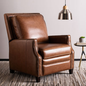 Safavieh Couture Buddy Nailhead Trim Recliner