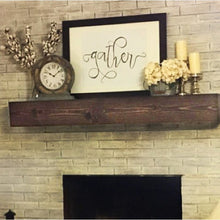 Load image into Gallery viewer, Shiela Fireplace Shelf Mantel  #mp811