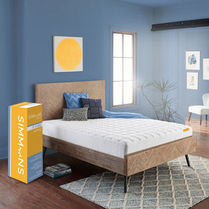 "TWIN Simmons 8"" Medium Hybrid Mattress    #ta5353"