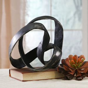 Verity Aluminum Knot Sculpture #3010