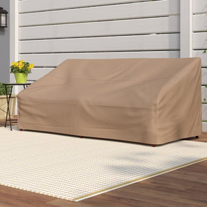 "35"" H x 79"" W x 37"" D Latte Wayfair Basics Patio Sofa Cover #6189"