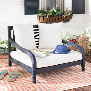 Wiest Double Chaise Lounge with Cushion  #6140
