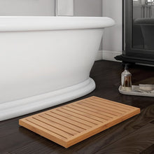 Load image into Gallery viewer, Zaina Slatted Bamboo Bath Rug  #5267