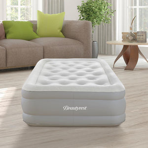 Raised Air Bed Mattress with Edge Support and Express Pump  #5497