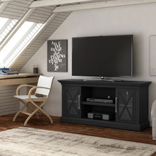 "Load image into Gallery viewer, Society Hill Black TV Stand for TVs up to 65""  #5298"