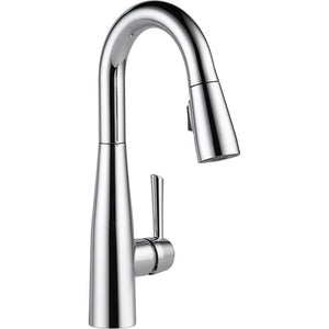 Trinsic Single-Handle Pull-Down Sprayer Bar Faucet with MagnaTite Docking in Arctic Stainless  #4339