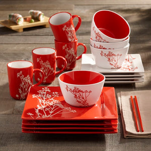 Red Lonegan 16 Piece Set #596