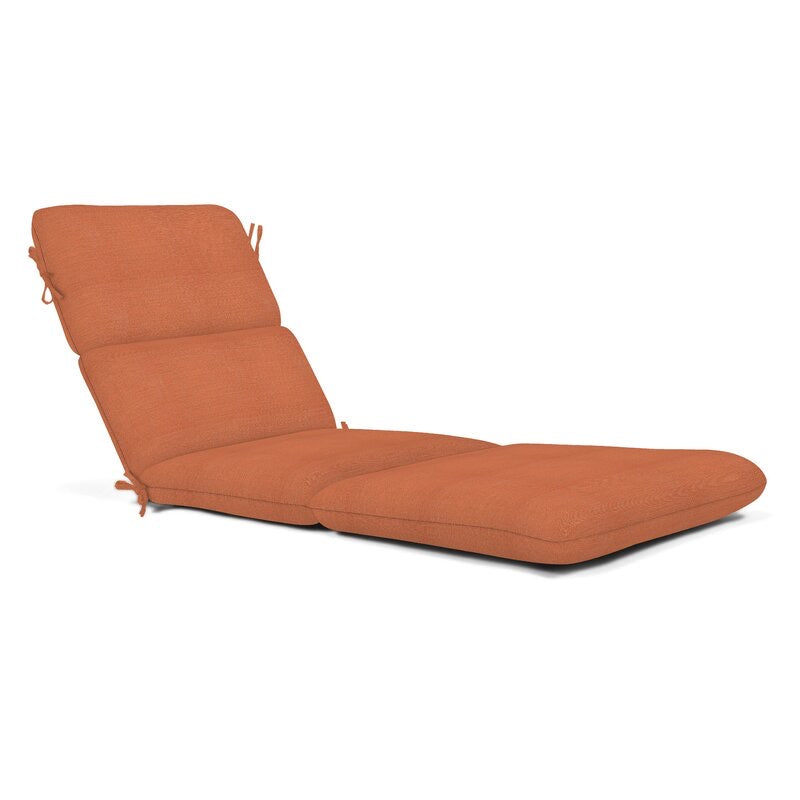 Indoor / Outdoor Sunbrella Chaise Lounge Cushion #1041