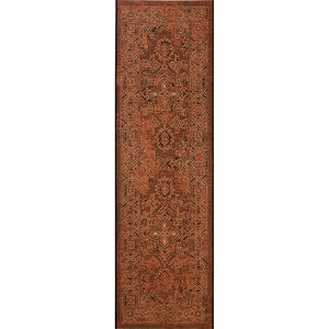 Cummington Rust Orange Area Rug #733
