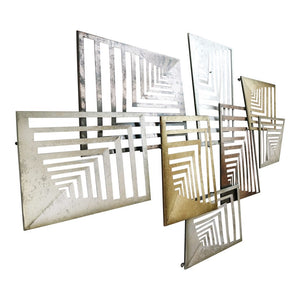 Jin Metal Multicolor Wall Decor #718