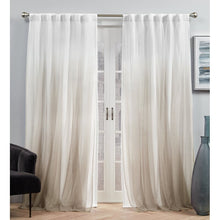 Load image into Gallery viewer, (Set of 2)Dare Blackout Thermal Rod Pocket Curtain Panels #788