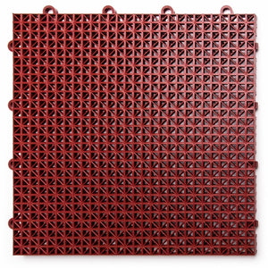 "12"" x 12"" Plastic Interlocking Deck Tile #1034"