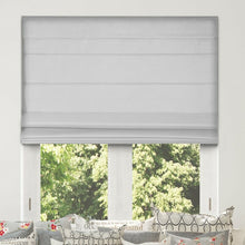 Load image into Gallery viewer, Room Darkening Cordless Lift Blackout Roman Shades #946