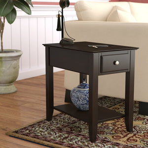 Hadley End Table with Storage #824