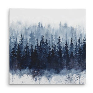 Navy 'Indigo Forest' Canvas #778