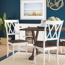 Load image into Gallery viewer, White Ashwell Dining Chair (Set of 2). #5257