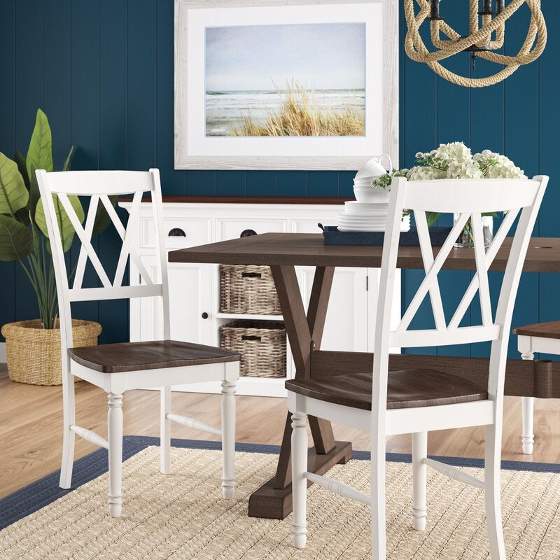 White Ashwell Dining Chair (Set of 2). #5257