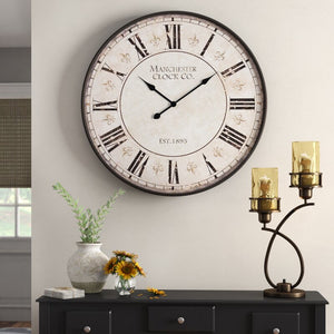 "Oversized Stoddard 30"" Wall Clock #603"