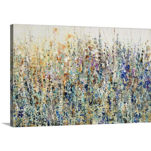 'Thicket Wildflowers' Painting on Canvas #836