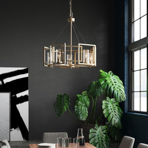 Wightman Shaded Drum Chandelier #926