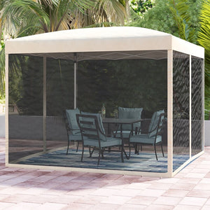 Hartin 10 Ft. W x 10 Ft. D Steel Pop-Up Canopy #575