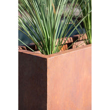 Load image into Gallery viewer, Metallic Series Corten Steel Planter Box #614