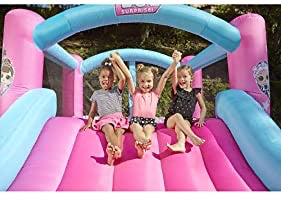 L.O.L. Surprise! Jump 'n Slide Inflatable Bounce House with Blower #753