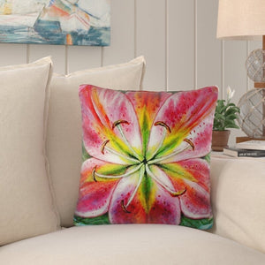 (Set of 2)Tucker Lily Indoor/Outdoor Throw Pillow #899