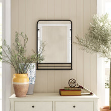 Load image into Gallery viewer, Peetz Accent Mirror with Shelves #1077