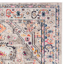 Load image into Gallery viewer, Gutierez Oriental Gray/Blue/Orange Area Rug #635