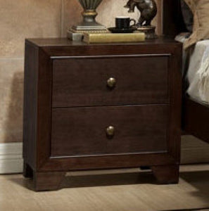 Acme Madison 2-Drawer Nightstand in Espresso #711