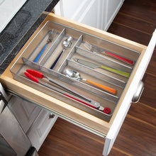 Load image into Gallery viewer, Silver Wayfair Basics Drawer Organizer #682