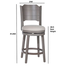 Load image into Gallery viewer, Kinsey Counter Swivel Stool #1076