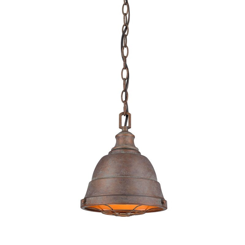 Elinna 1-Light Single Bell Pendant #745