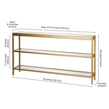 "Load image into Gallery viewer, Southall 55"" Console Table #1015"