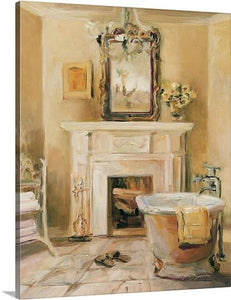 'French Bath I' Painting Print #803