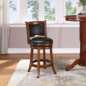 "24"" Augusta Swivel Counter Stool Hardwood - Boraam   #5107"