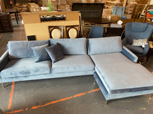 "Load image into Gallery viewer, Clara 119"" Reversible Modular Sectional"