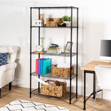 Load image into Gallery viewer, Wayfair Basics 4 Shelf Wire Shelving Unit #822