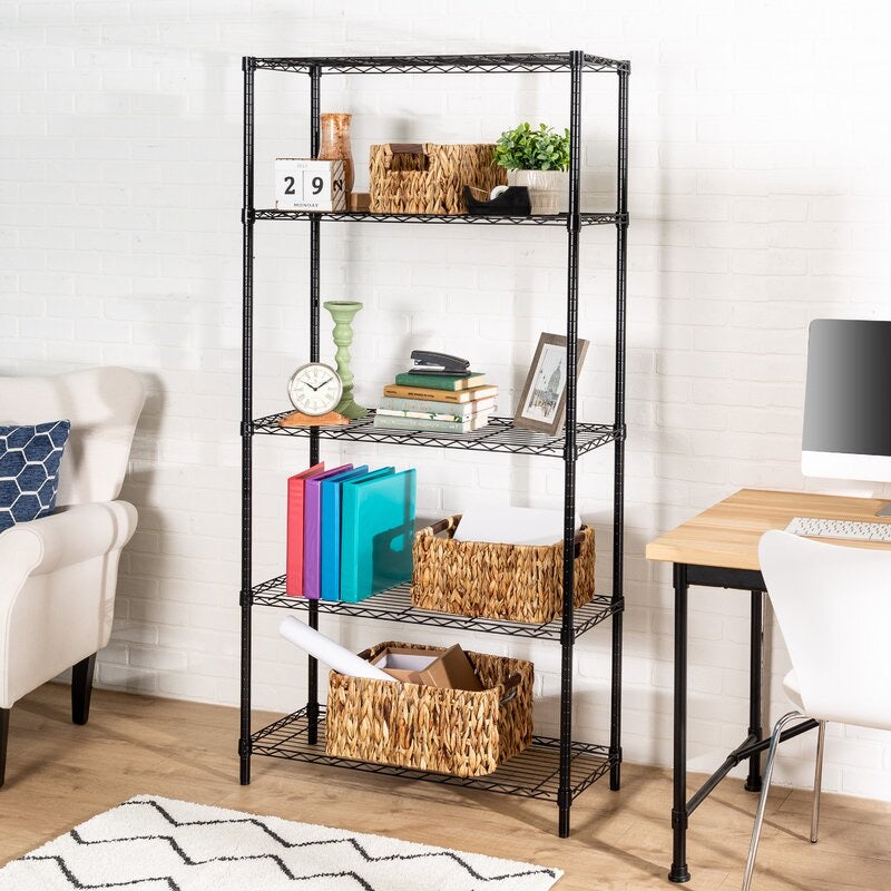 Wayfair Basics 4 Shelf Wire Shelving Unit #822