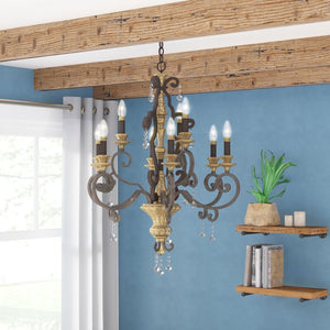 Windsor Rise 9-Light Chandelier #1018