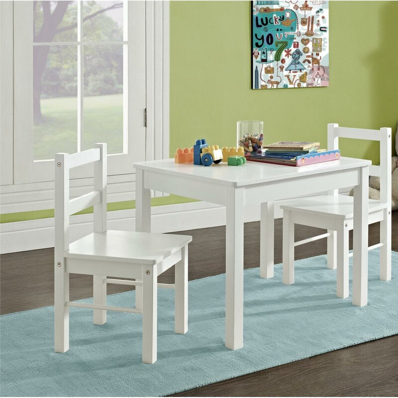 Suri Kids 3 Piece Table and Chair Set #1075