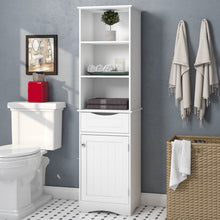 Load image into Gallery viewer, Ashland Free-Standing Linen Cabinet #818