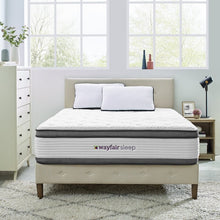"Load image into Gallery viewer, Wayfair Sleep 14"" Plush Hybrid Mattress #951"