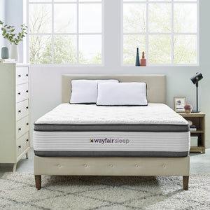 "Wayfair Sleep 14"" Plush Hybrid Mattress #951"