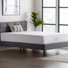 "Load image into Gallery viewer, Lucid Comfort 12"" Medium Charcoal Infused Gel Memory Foam Mattress #1927"