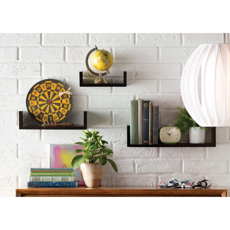 Wickes 3 Piece Floating Shelf Set #1023