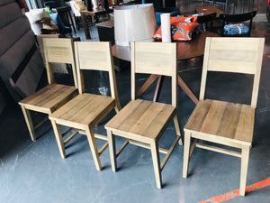 Abbey Solid Wood Side Chair-set of 4