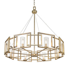 Load image into Gallery viewer, Wightman Shaded Drum Chandelier #926