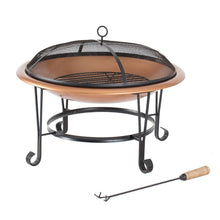 Load image into Gallery viewer, Millennium Copper Wood Burning Fire Pit #672